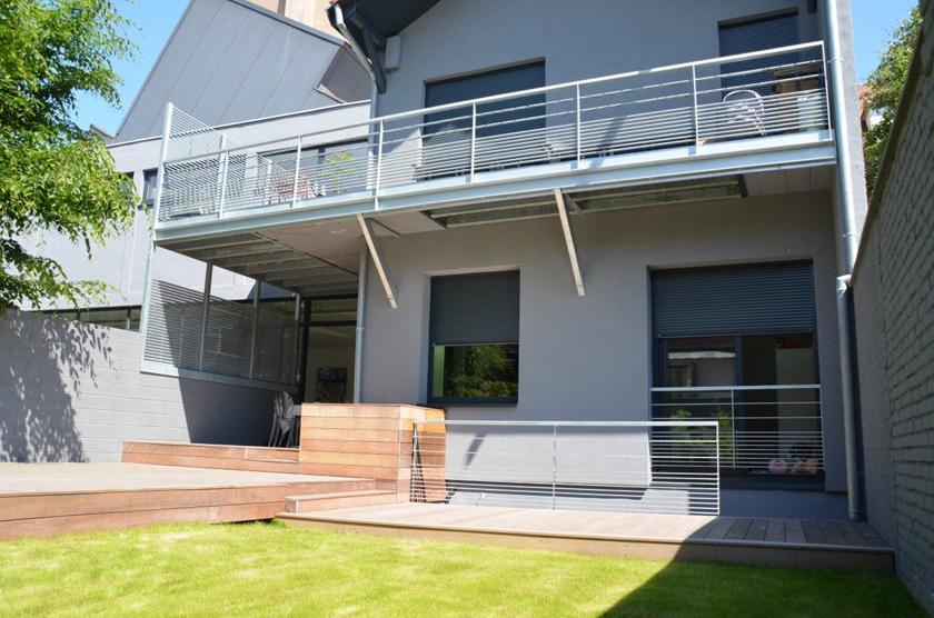 metalest alsace nordhouse garde corps acier galvanis. Black Bedroom Furniture Sets. Home Design Ideas
