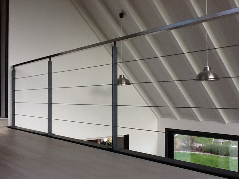 metalest alsace nordhouse garde corps sur mezzanine. Black Bedroom Furniture Sets. Home Design Ideas