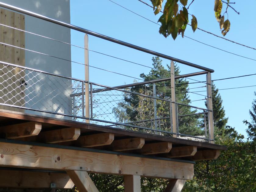 metalest alsace nordhouse garde corps sur terrasse bois. Black Bedroom Furniture Sets. Home Design Ideas