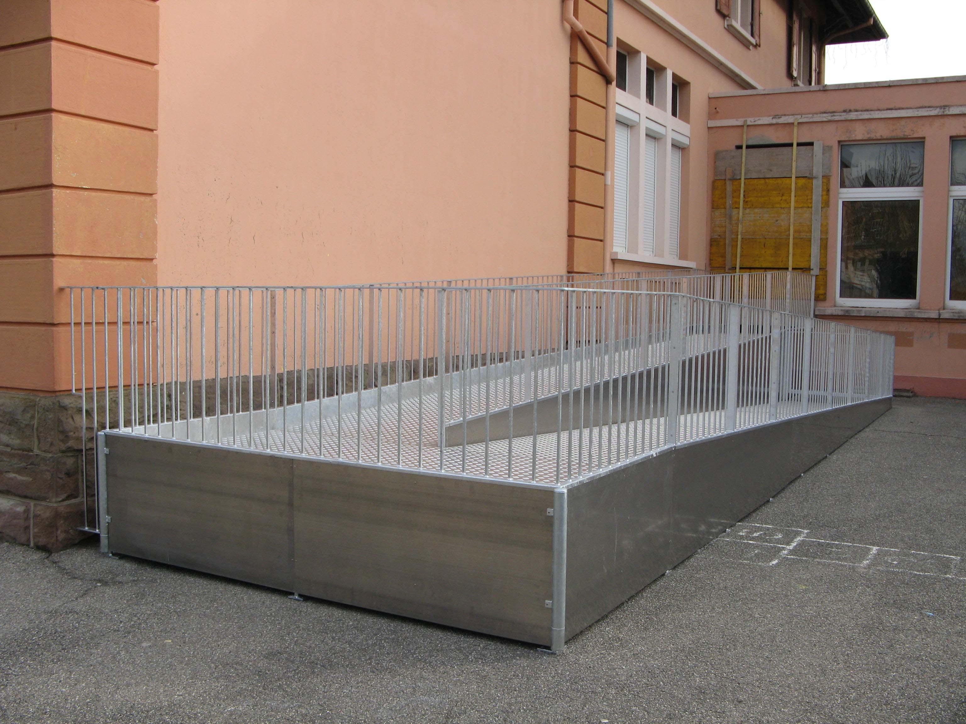 metalest alsace nordhouse rampe d 39 acc s handicap. Black Bedroom Furniture Sets. Home Design Ideas